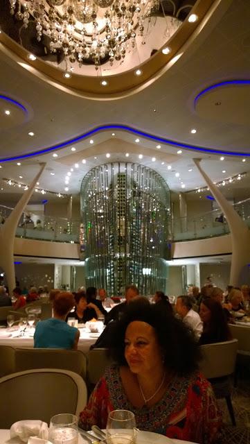 Celebrity Cruises Solstice restaurant
