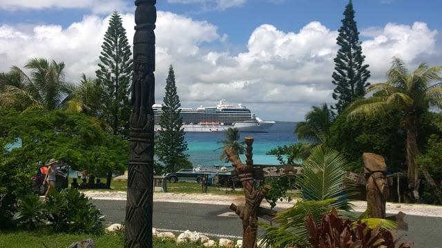 risteily Uusi-Kaledonia Lifou