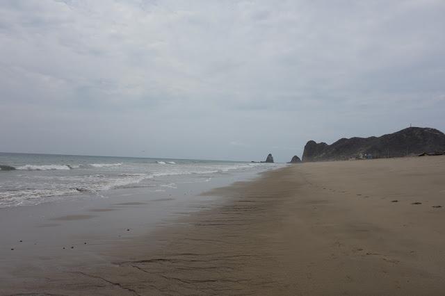 Beach Ecuador
