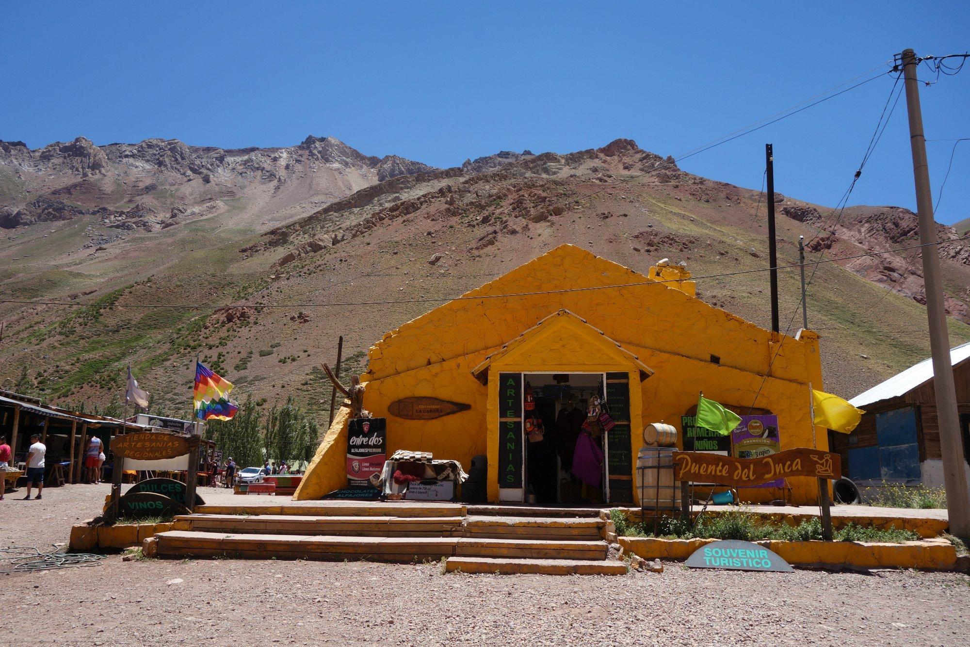 Puente del incan kylää
