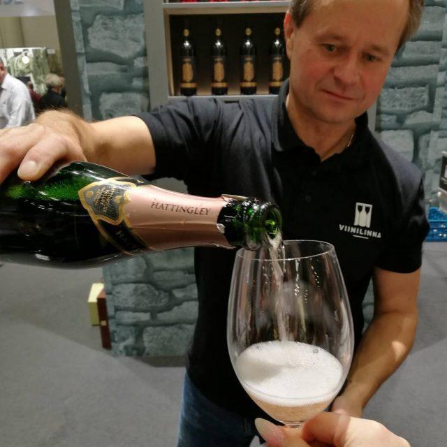 Tnn viel ehtii Helsingin Messukeskukseen viini ja ruokamessuille maistelemaan jahellip