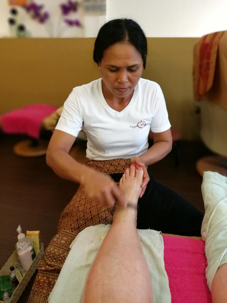 Thaimaalainen jalkahieronta