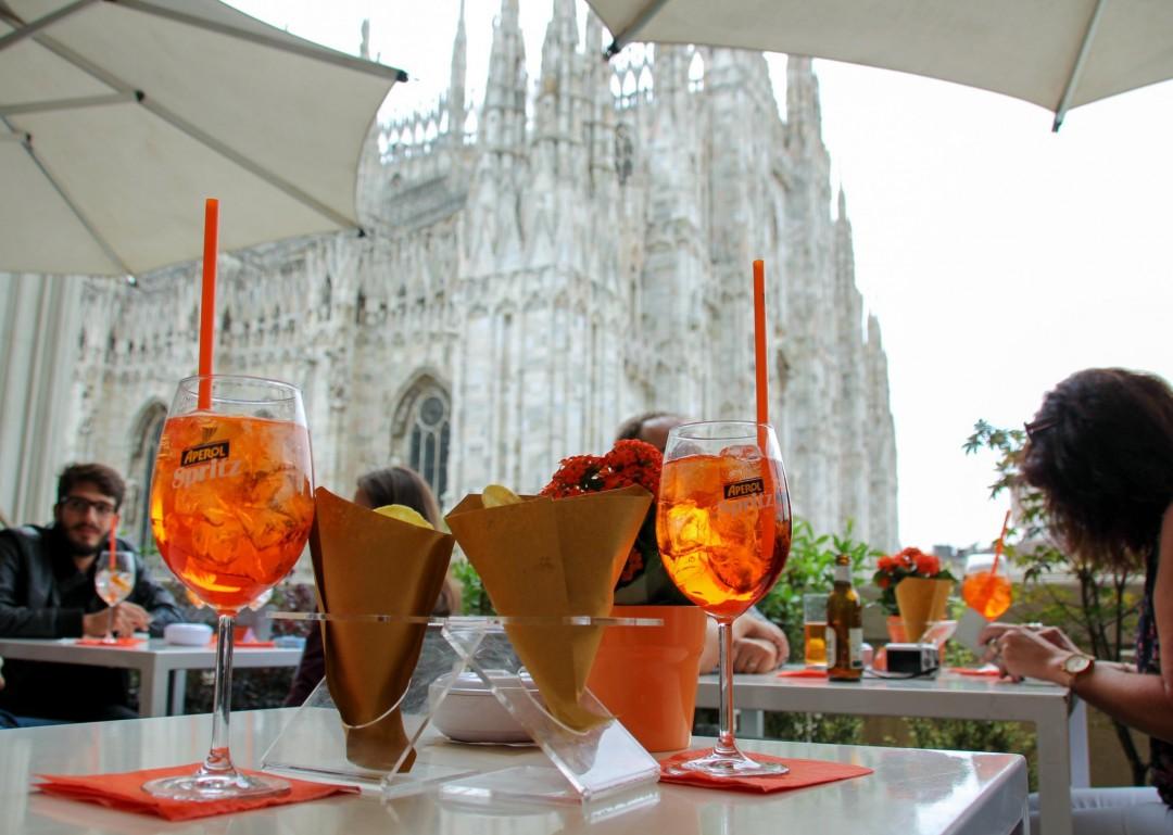 Terrazza Aperol - Kattoterassi Milanon sydämessä
