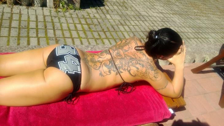 Tatuointi Studio Laura Kosken käsialaa