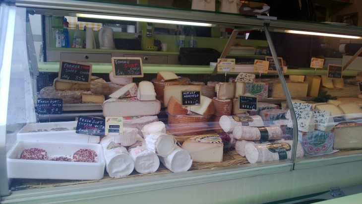 italialaisia juustoja