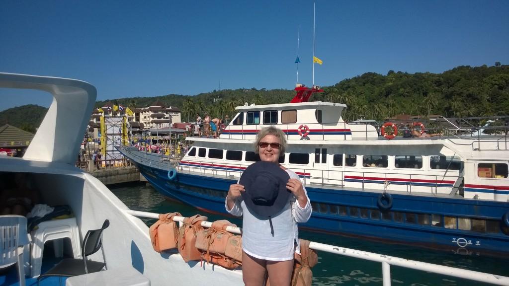 lähdössä Phuketiin
