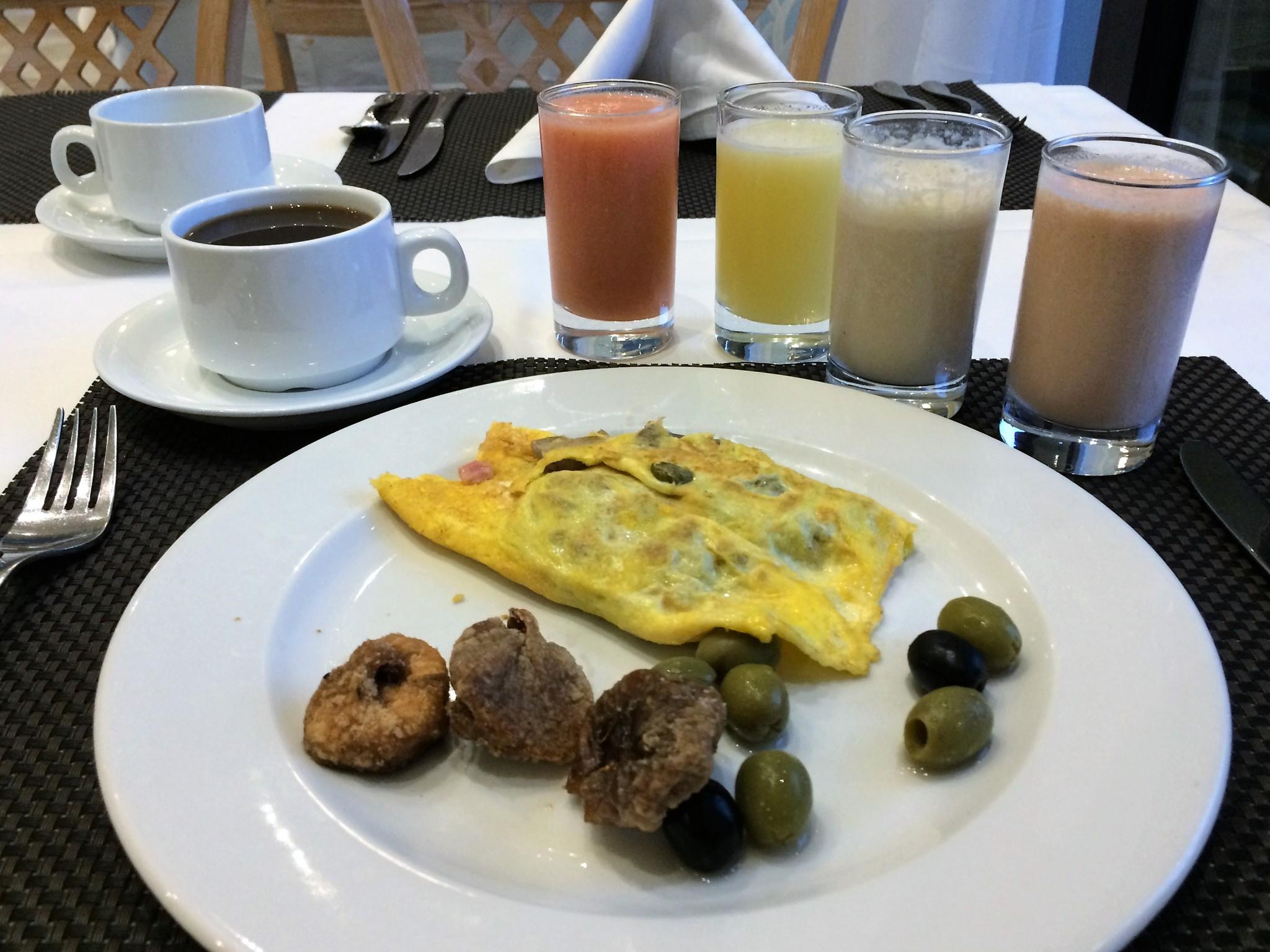 Havanna aamiainen hotelli PCssä