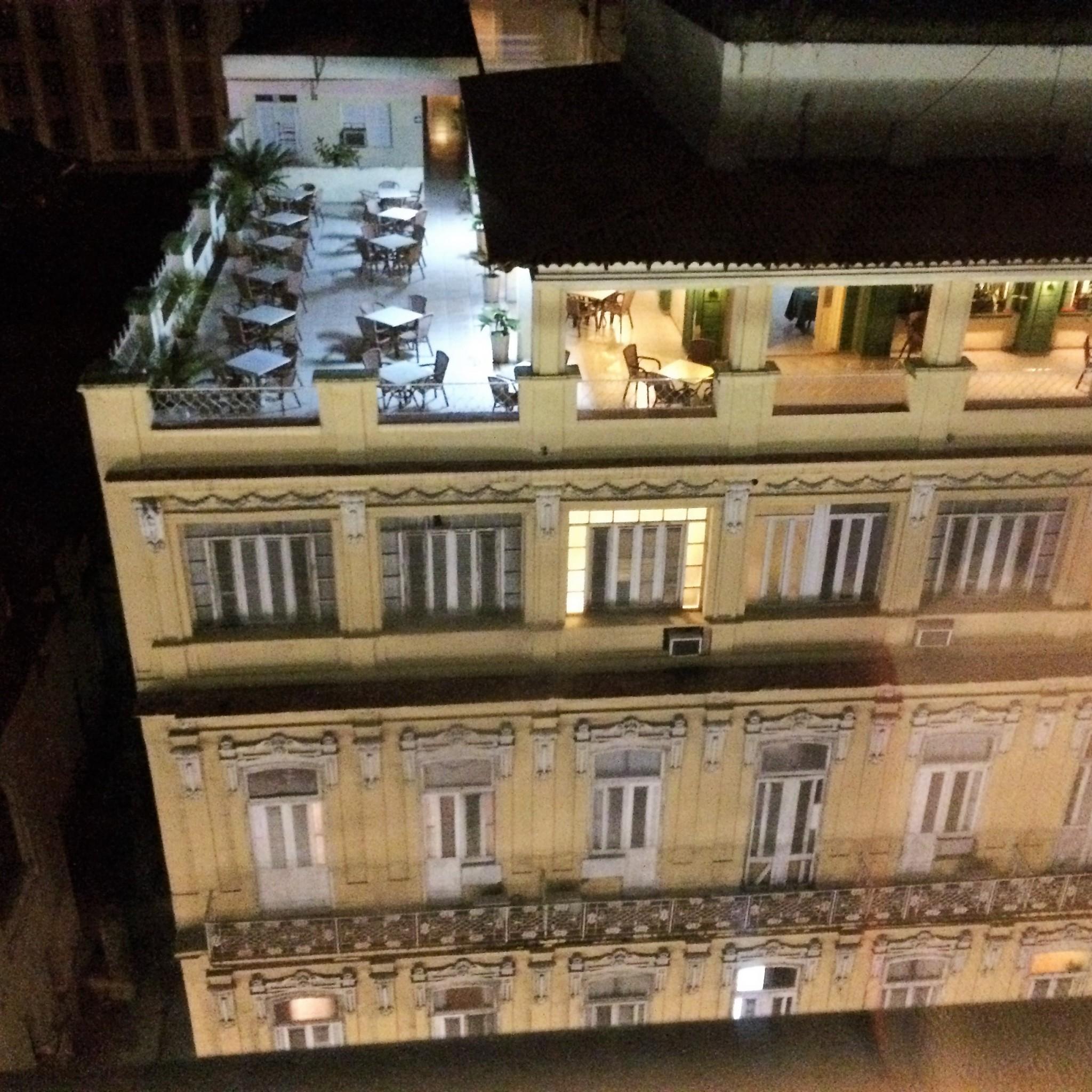 Havanna näkymä hotellin ikkunasta