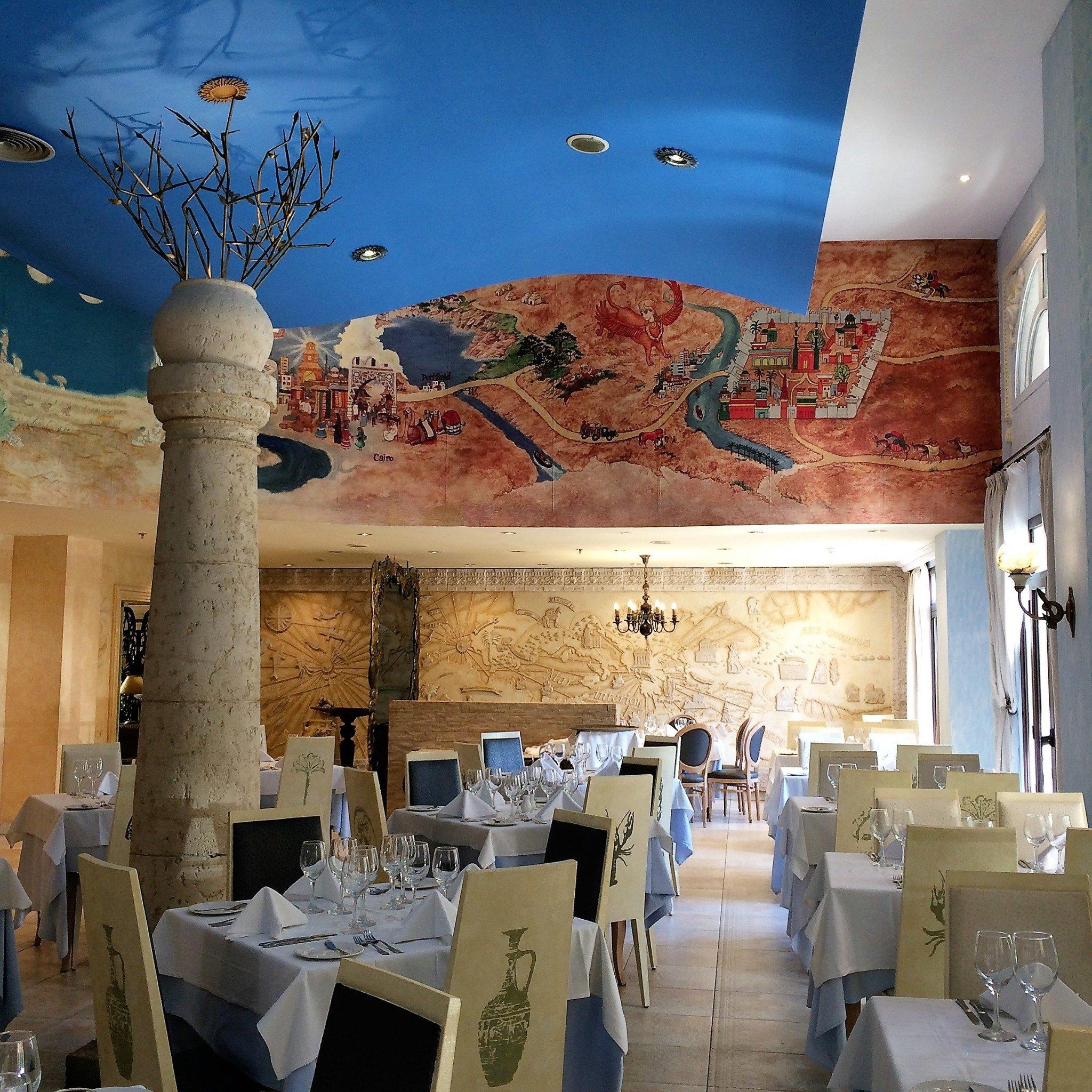 Havannan hotellin ravintolassa