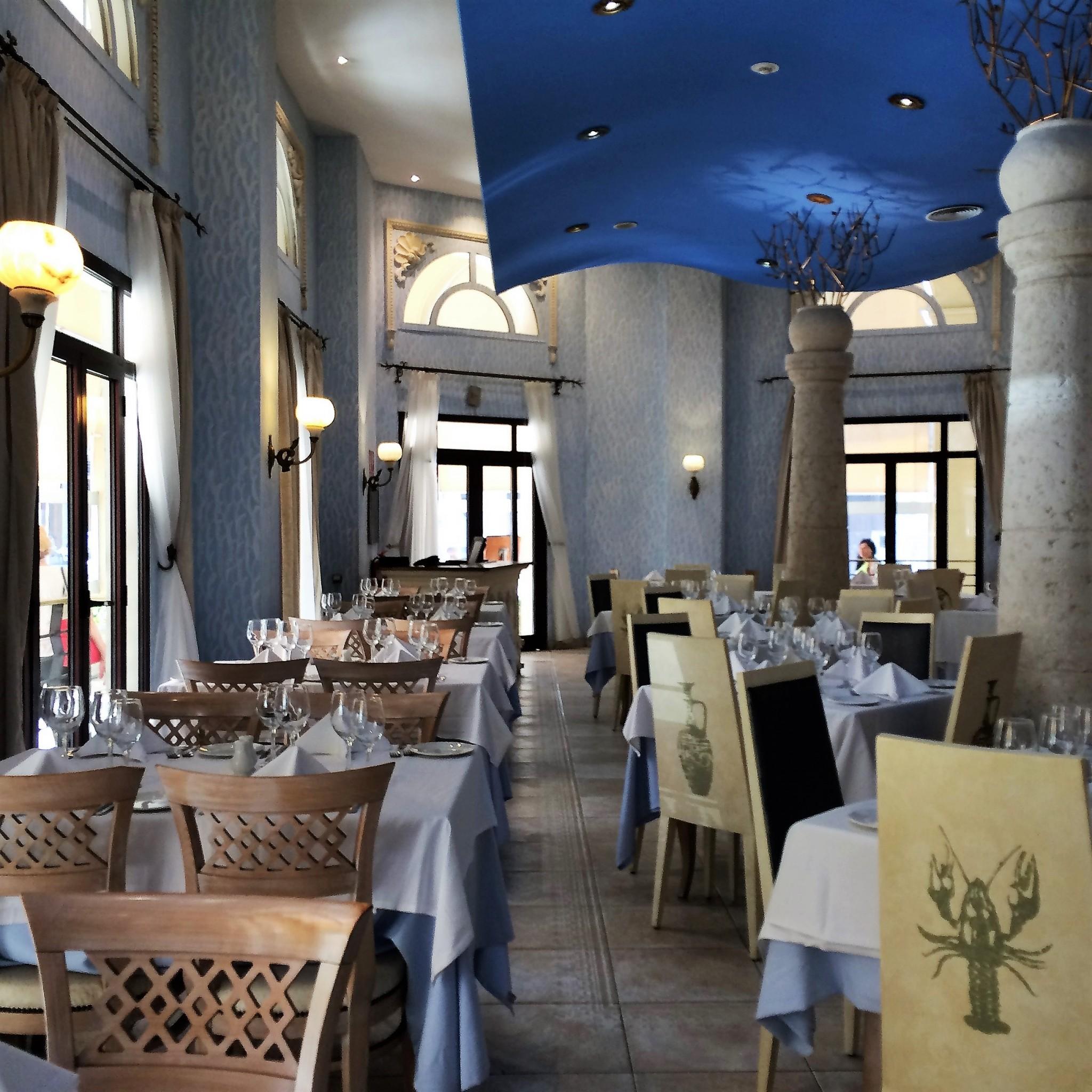 Havannassa hotelli Parque Centralin ravintolassa