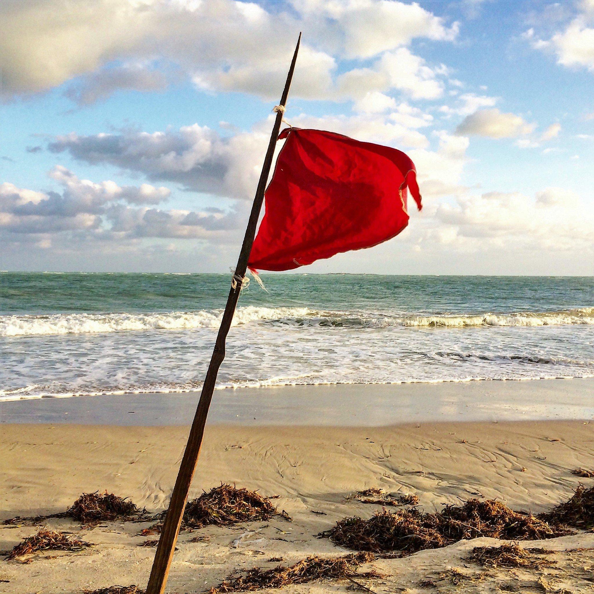 Varadero punainen lippu