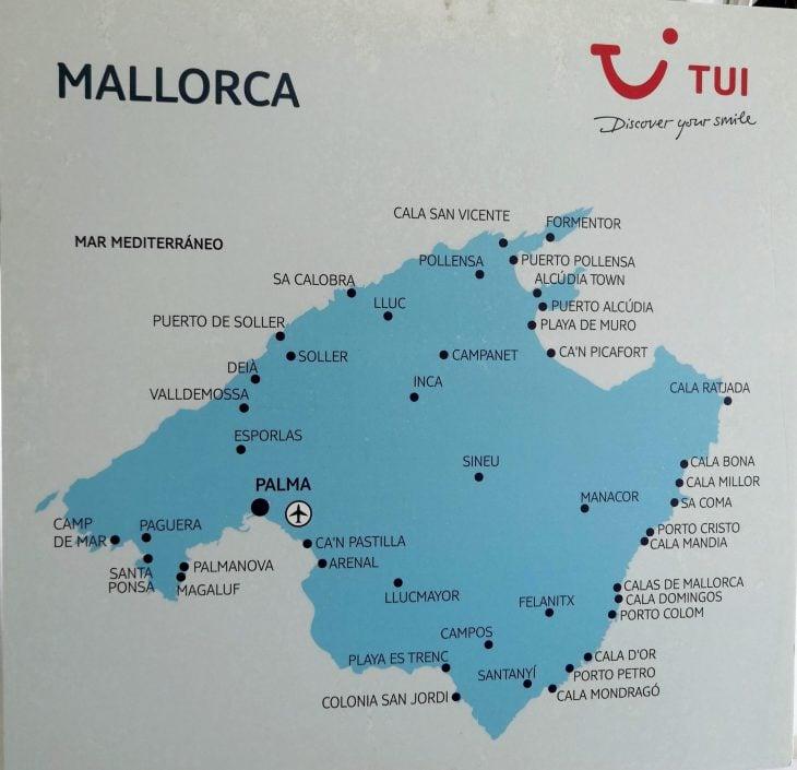 Mallorcan massaturismi &  patikointisaaret