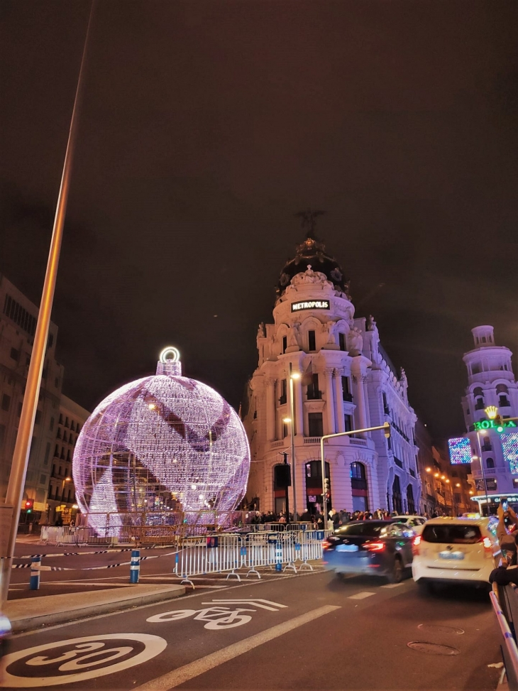 Madrid Sää Joulukuu