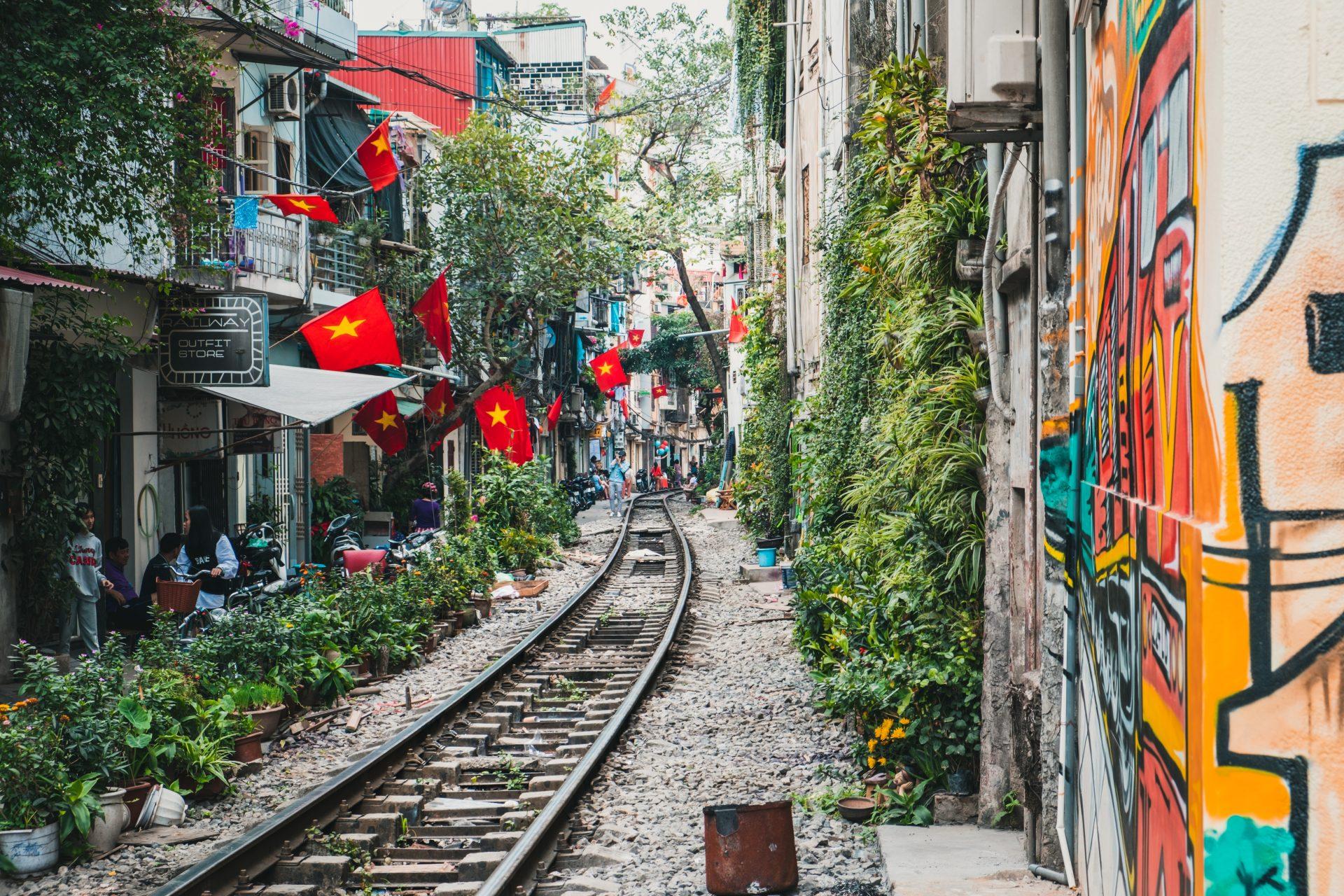 Matkahaaveet koronan jälkeen. Hanoi.