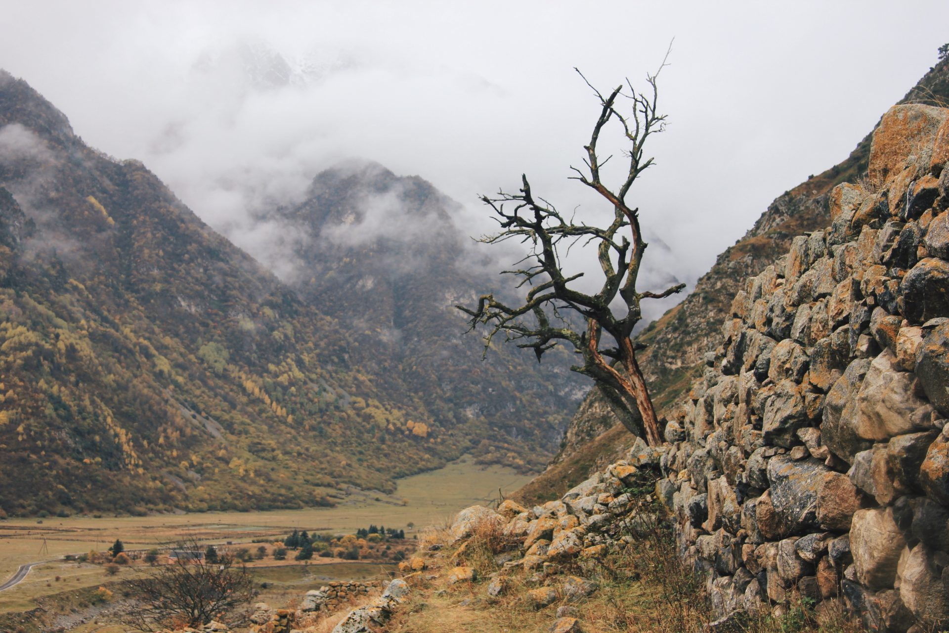 Matkahaaveet koronan jälkeen. Kaukasus-vuoret.