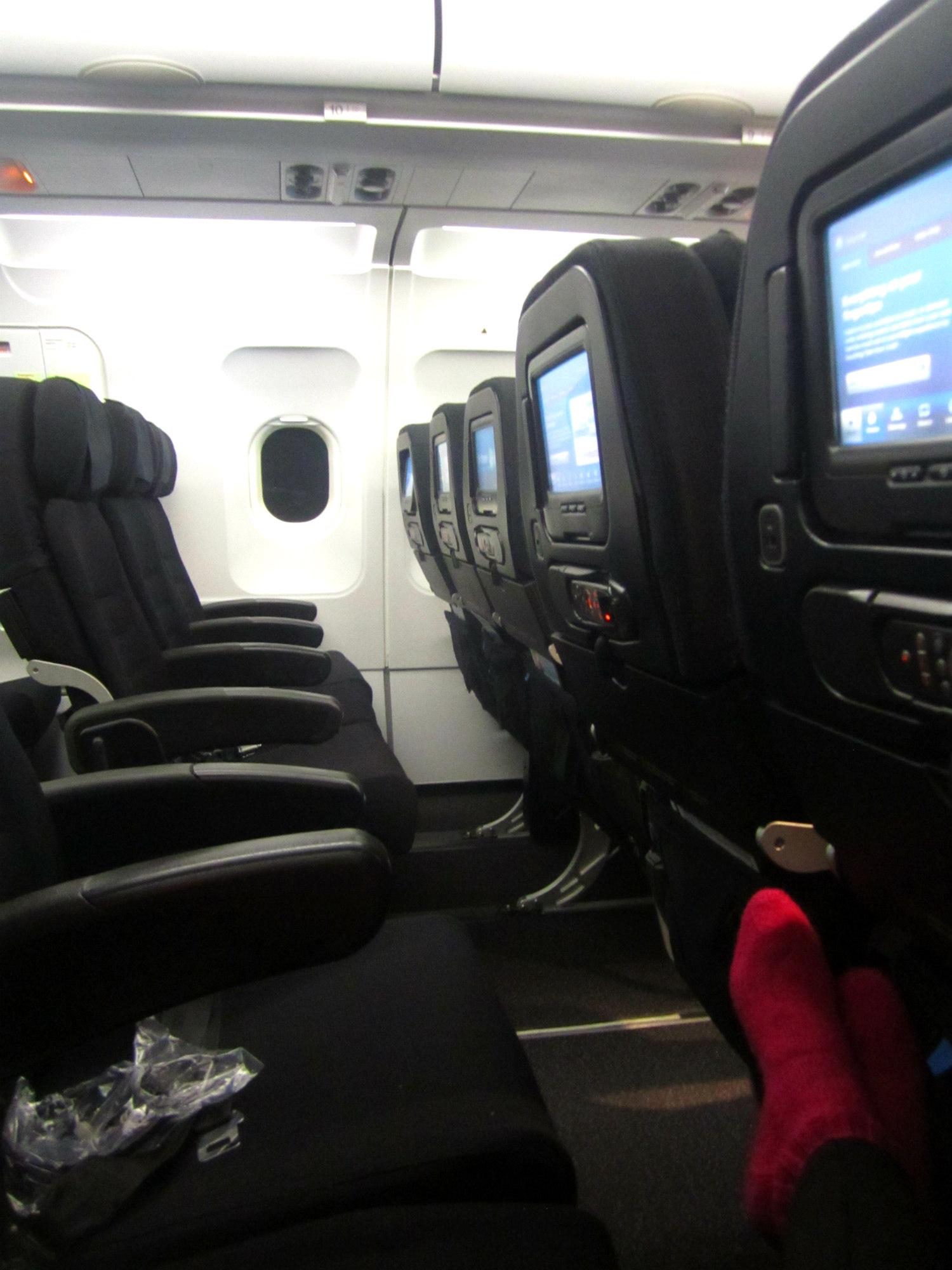 Christchurchin lennolla riitti tilaa.