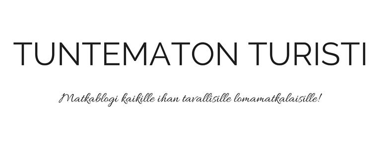 TUNTEMATON TURISTI