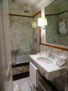 Hotellihuoneeni kylpyhuone
