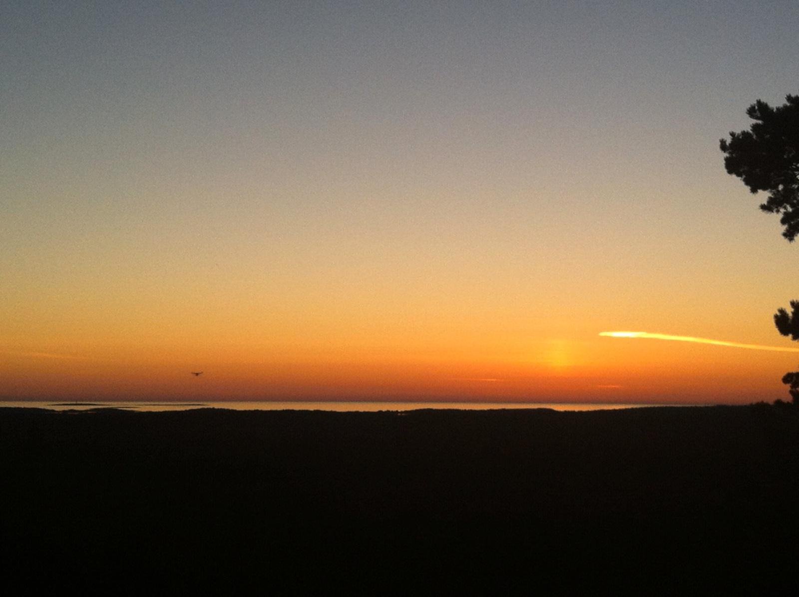 Geta-vuoren auringonlasku