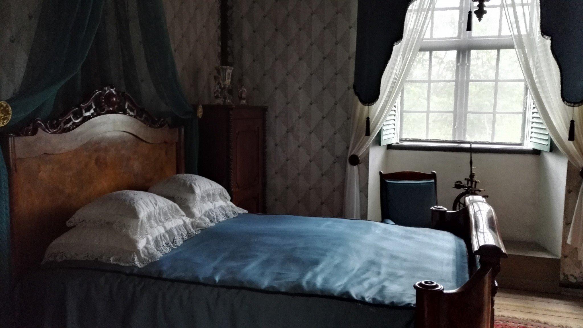 Louhisaaren kartano sininen kammari