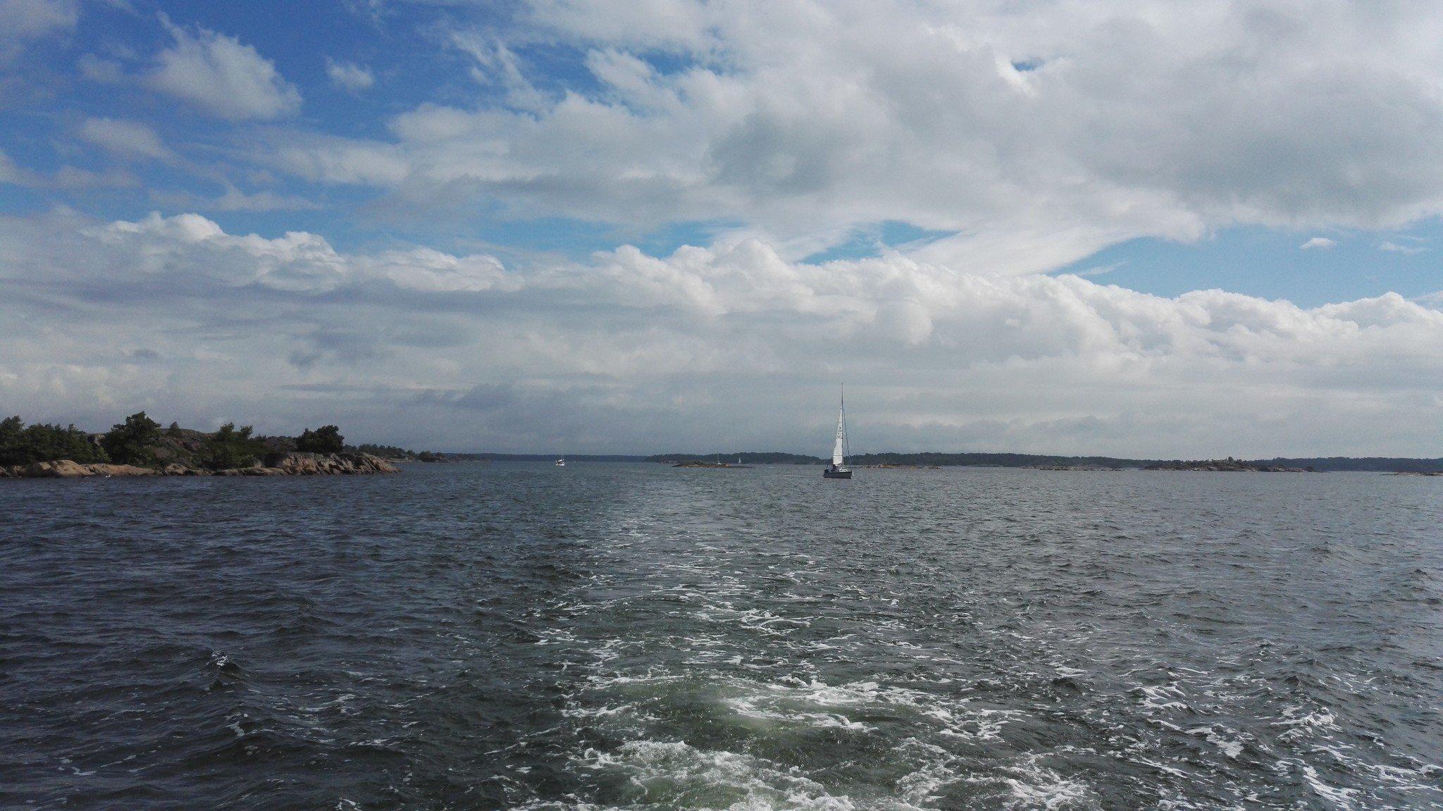 Matkalla Örön saarelle