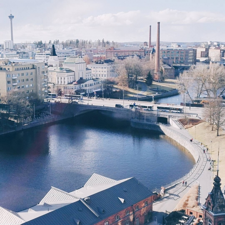 Hello Tampere! You look lovely bathing in this spring sunlighthellip
