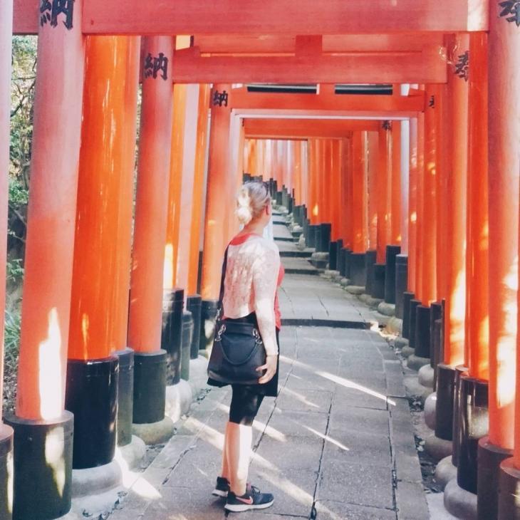 Fushimi Inaritaisha and the endless orange torii gates to thehellip