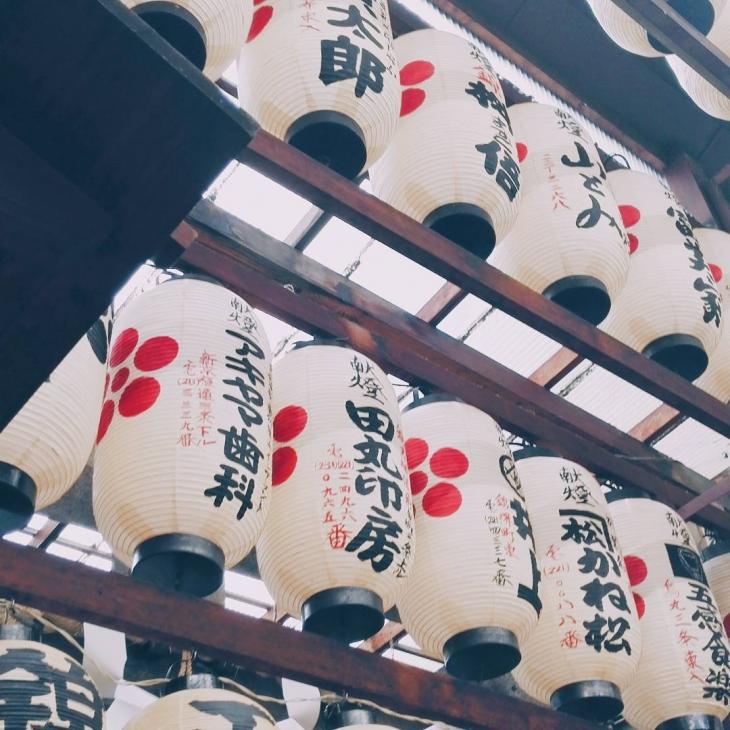 Teramachi shopping arcade in Kyoto japan kyoto japanese lanterns wanderlusthellip