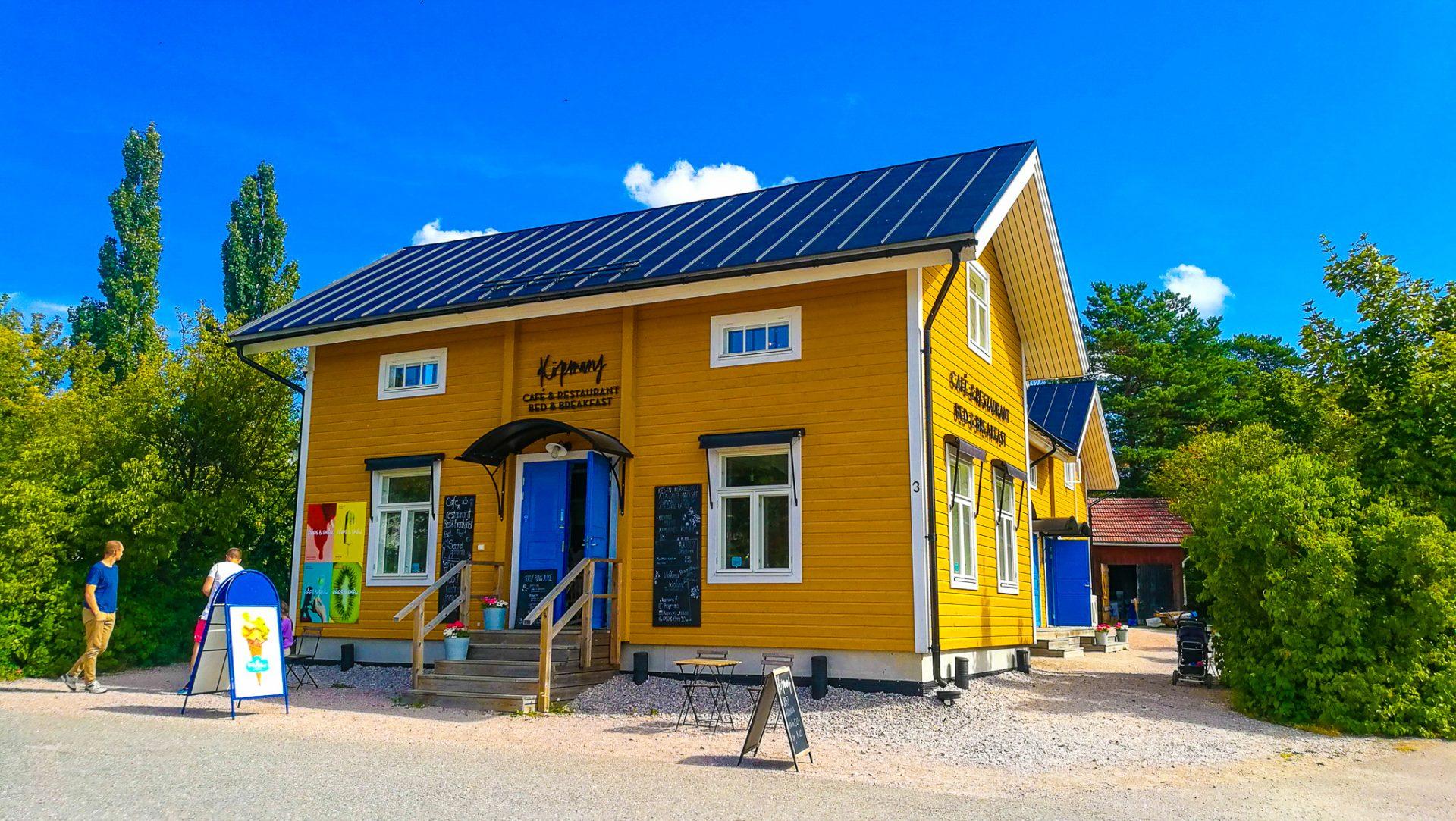 Köpmanns ravintola Nauvossa