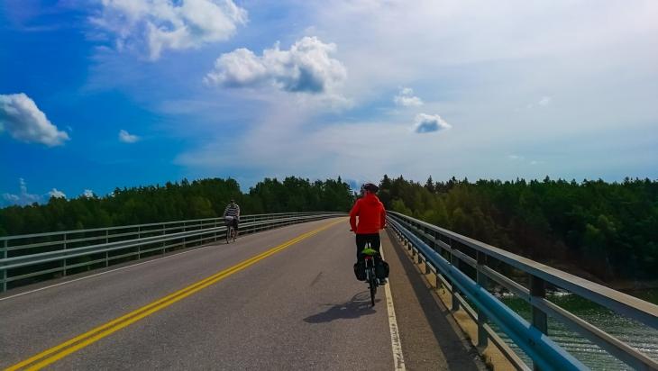 Saariston pyöräretki päivässä