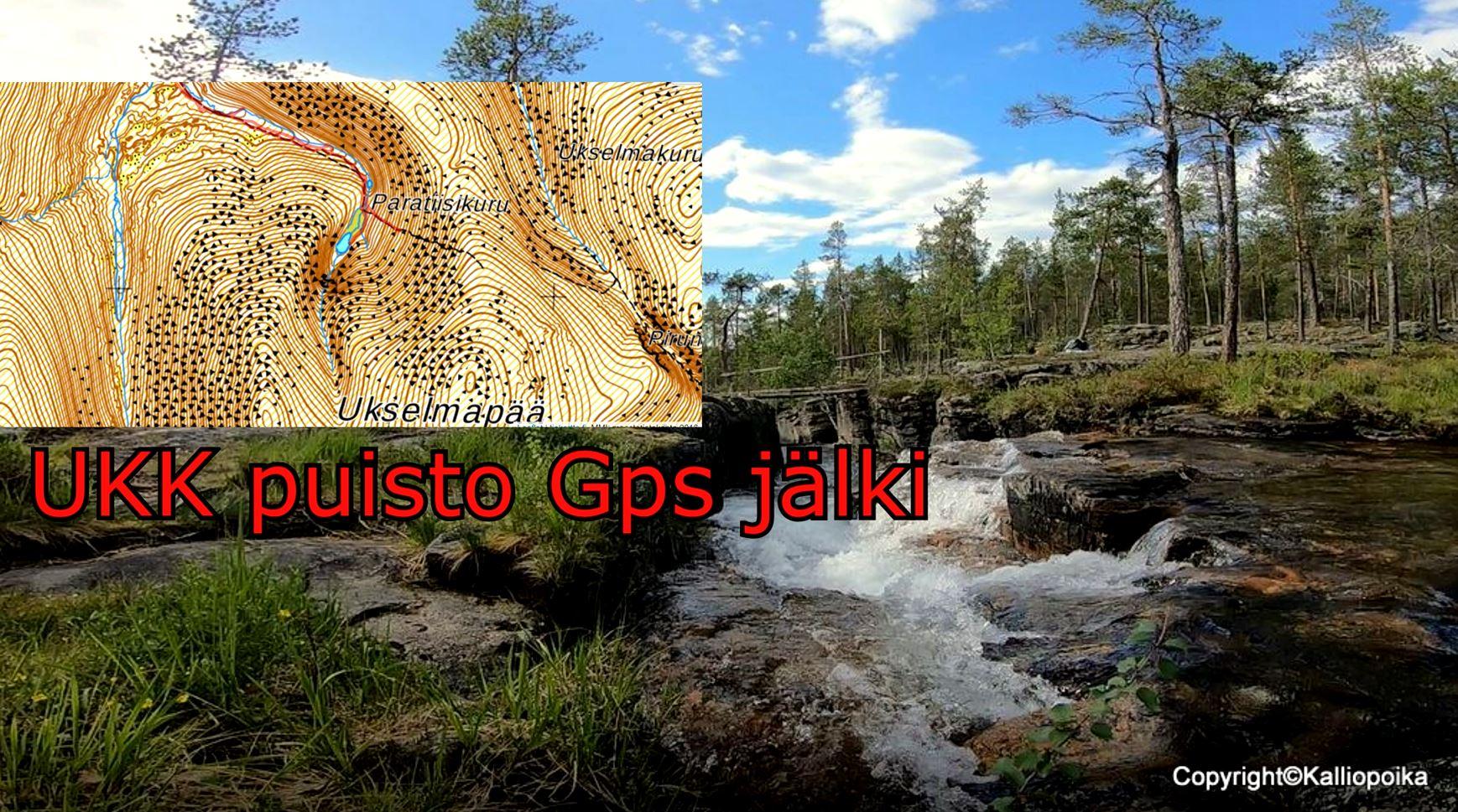 Reittisuunnittelu Urho Kekkosen Kansallispuisto Saariselka