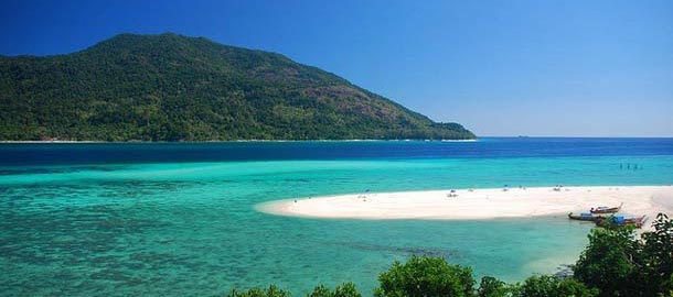 Thaimaasta löytyy upeita rantoja
