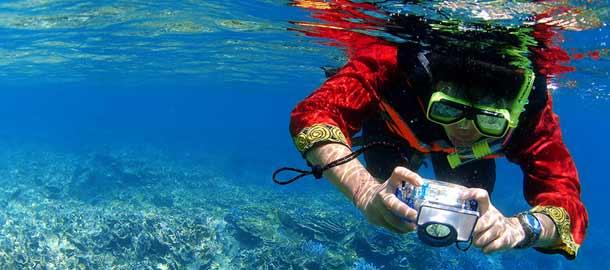 Sukellusta Thaimaan kirkkaissa vesissä