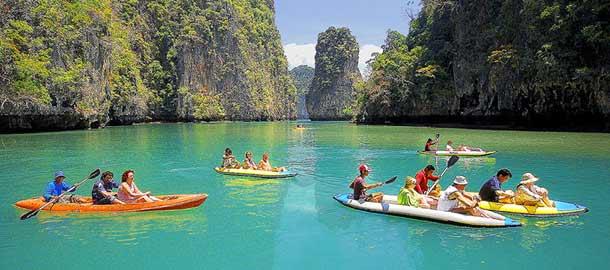 Aktiviteetit Thaimaassa