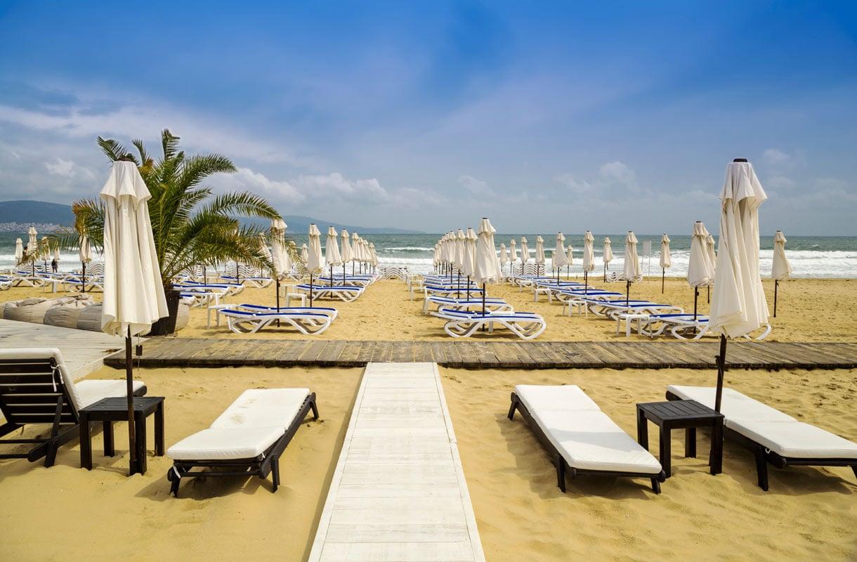 Bulgarian Sunny Beach sopii myös lapsiperheille.