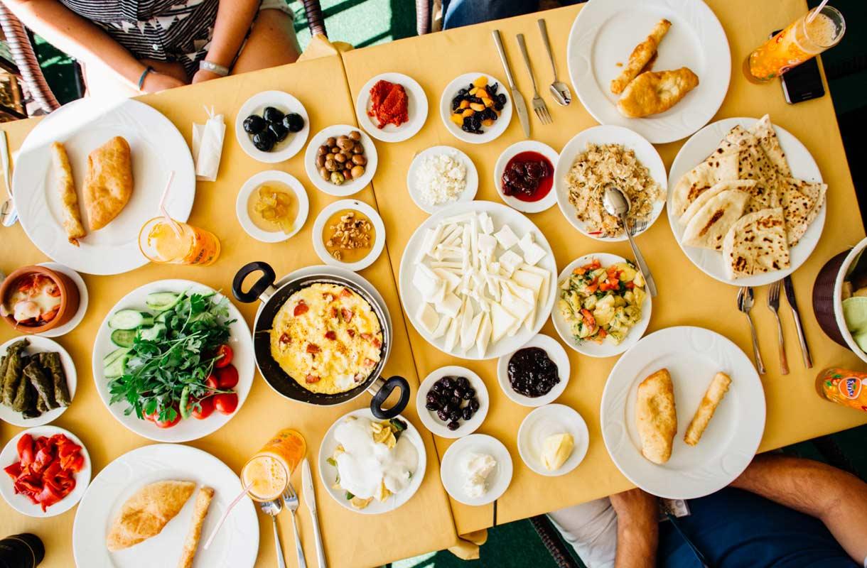 Turkkilainen aamiainen