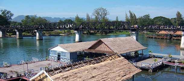 Tee retki Hua Hinista Kwai-joen sillalle