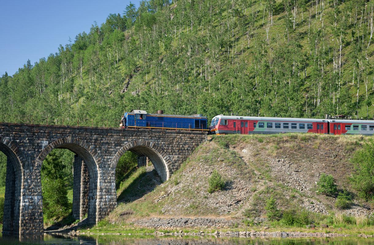 Trans-Siperian juna