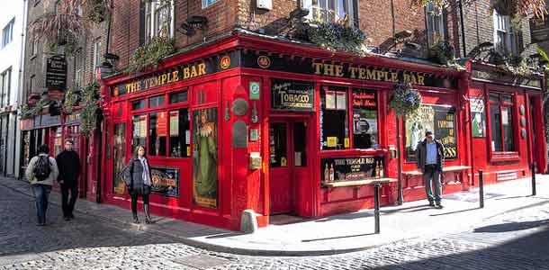 Temple Bar -alue Dublinissa