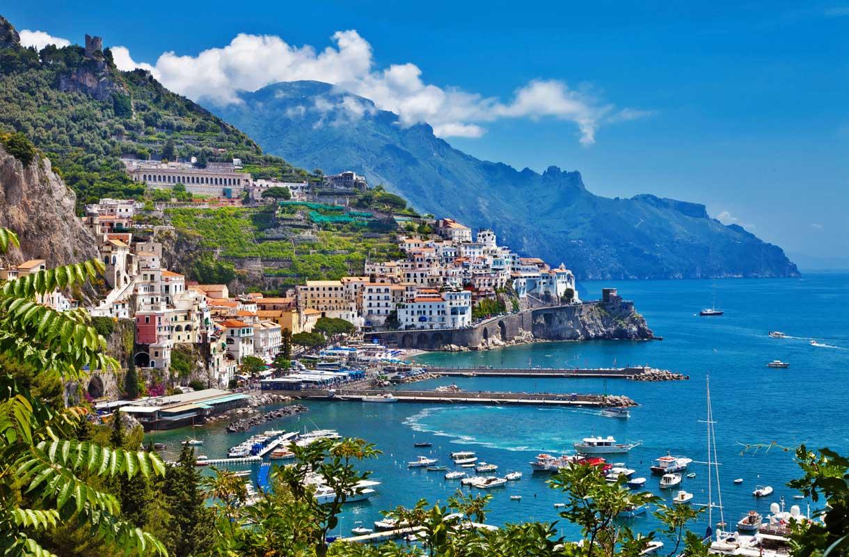 Amalfin rannikko
