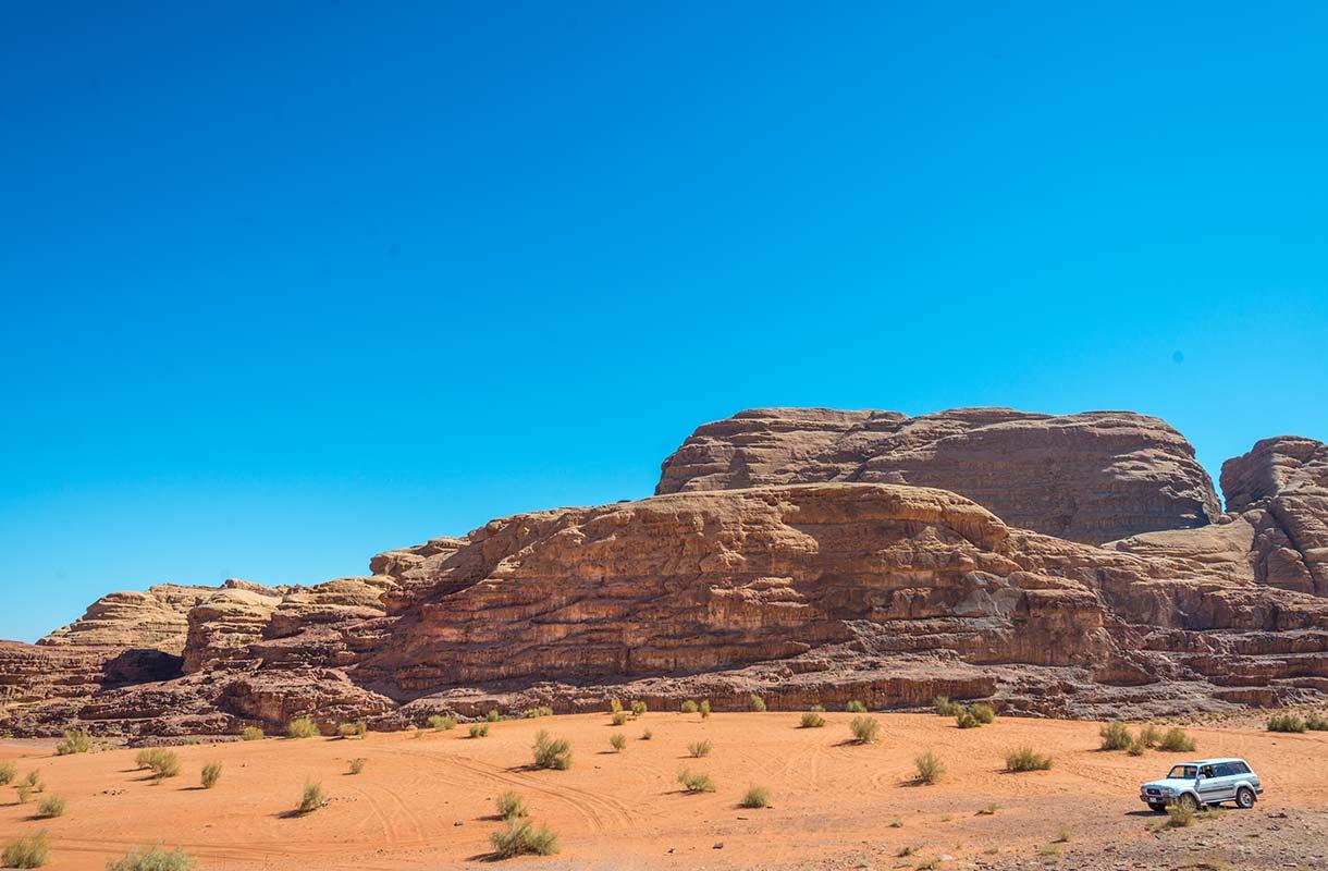 Wadi Rum Jordaniassa