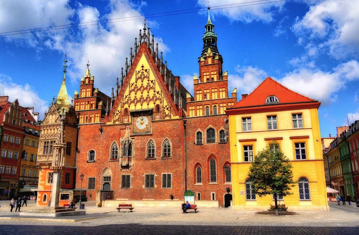 Wroclaw on Puolan näyttävimpiä kaupunkeja.