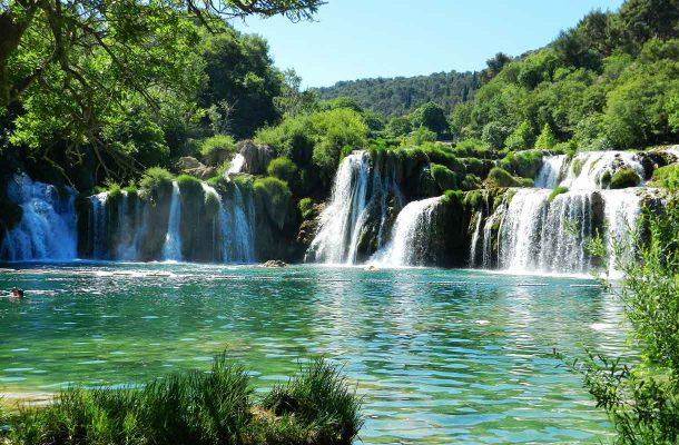 Vesiputous Kroatiassa