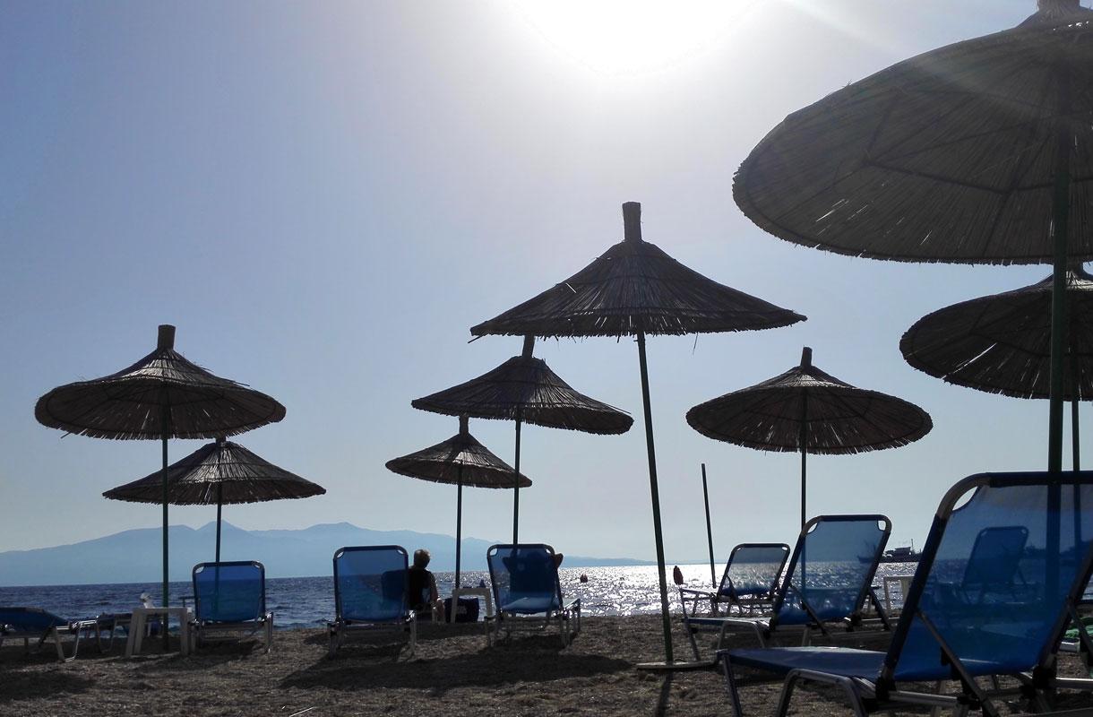 Sarandë on yksi Albanian rantakohteista.