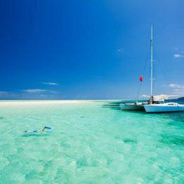 Snorklaaja Malediiveilla