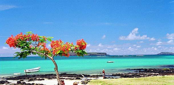 Mauritiuksella trooppinen ilmasto