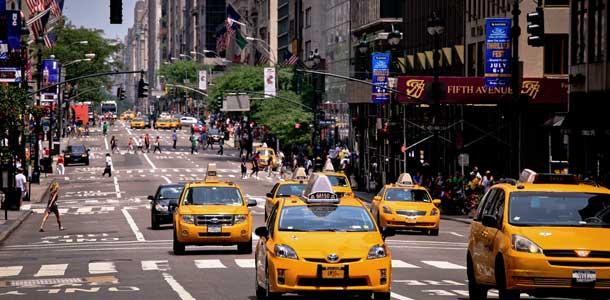 New York on Yhdysvaltojen suosituimpia matkakohteita