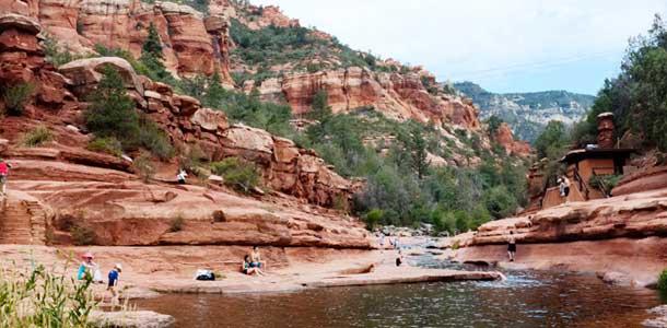Slide Rock State Park sijaitsee Arizonassa