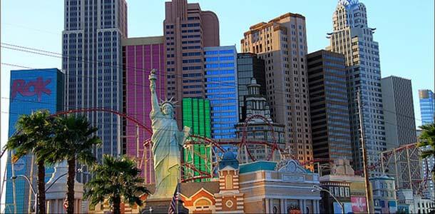 Upea Las Vegas valloittaa