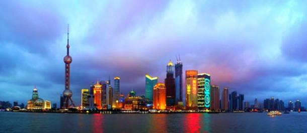 Shanghain skyline